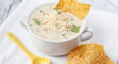 Creamy Green Enchilada Soup | Taste for Adventure - Unusual, Unique & Downright Awesome Recipes