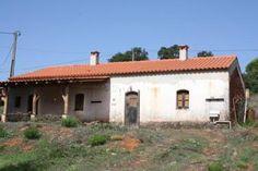 Bild 1 Haus in Romeiras - Marmelete - Algarve (Portugal) - Lehmhaus, Landhaus, Ökölogische Bauweise aus Stampflehm mit Grundstück