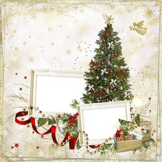 0_6e42a_7632651e_L (500×500) Christmas Frames, Noel Christmas, Christmas Paper, Christmas And New Year, Christmas Cards, Christmas Decorations, Christmas Background, Paper Background, Framed Wallpaper
