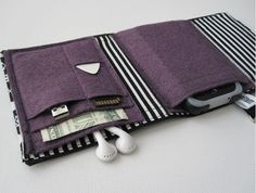 Phone case, wallet and earphones holder from NerdHerderCase. Perfect for fest'ing!