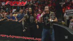 WWE RAW June 1 2015 - WWE RAW 6/1/15 Dean Ambrose & Seth Rollins Elimination Chamber Fallout! - NEWS