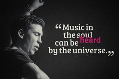 Hardwell my ♥♡! music in the soul can be heard by the universe