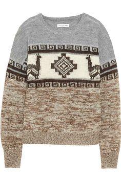 etoile isabel marant intarsia sweater