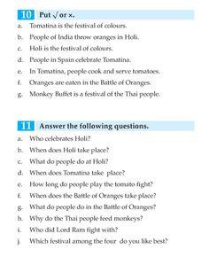 English Book Grade 3 Seasons, Weather And Festivals | English Language - Page 9