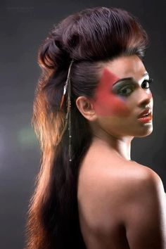 rockstar hair | Hair and makeup for rockstar shoot I did. | Sharda B.'s ...