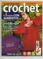 "Photo from album ""Tejido practico Crochet on Yandex. Crochet Gratis, Crochet Chart, Knit Crochet, Stitch Magazine, Crochet Magazine, Loom Knitting, Knitting Stitches, Crochet Designs, Crochet Patterns"