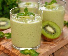 ¡Adelgaza fácil y rápido con este jugo de lechuga, espinaca y kiwi!