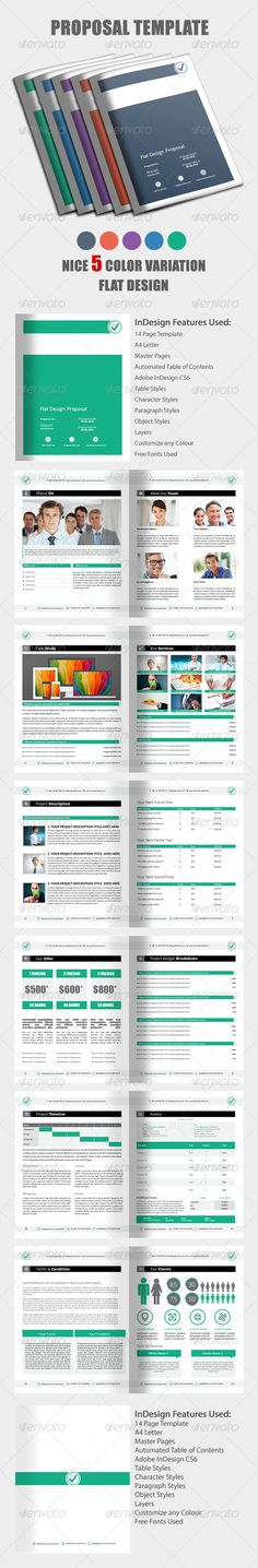Business Proposal Template III Proposal templates, Business - website proposal template