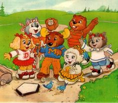 The Get Along Gang. For YEARS, I couldn't find anyone who remembered these to tell me what the hell they're names were!