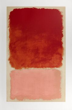 Our Untitled (Red Over Pink), 1968 Print by painter Mark Rothko is one of our bestselling Abstract art prints. It measures an impressive 137 x making it a real focal point in any room. Untitled (Red Over Pink), 1968 Art Print by Mark Rothko Rothko Prints, Rothko Art, Mark Rothko Paintings, Oil Paintings, Franz Kline, Robert Rauschenberg, Abstract Expressionism, Abstract Art, Nam June Paik