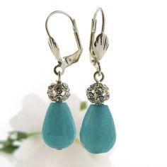 Oorbellen edelsteen jade Jewels with Flair