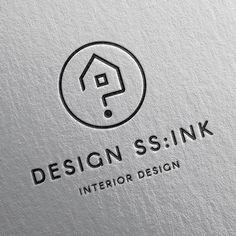 Logos, Typography Logo, Logo Branding, Branding Design, Business Card Logo, Business Card Design, Arquitectura Logo, Roofing Logo, Art Deco Logo