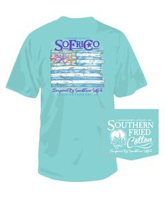 Take the Coastal Pledge in this tee from Southern Fried Cotton!