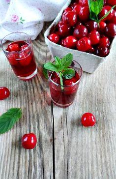 Waniliowa kuchnia: Nalewka wiśniowa