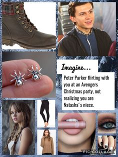 Peter-oh,hey girl I'm Peter You-hey I'm y/n *you continue talking to petter for about half an hour* Natasha-Y/n I see u've met Peter but you gotta go your dad just called and told me to take you home Peter stand there speechless as to what just happened Marvel Films, Marvel Jokes, Marvel Cinematic, Avengers Memes, Marvel Inspired Outfits, Movie Inspired Outfits, Marvel Fan, Marvel Avengers, Parker Spiderman