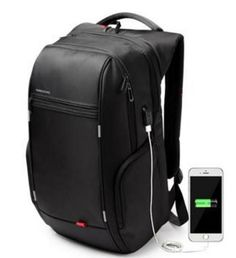 New Men Notebook Laptop Mochila Backpack 15.6 Inch Waterproof For Women External USB Charge Computer Antitheft Bag