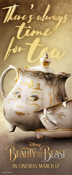 No matter how stressful your day is there is always time for a cuppa! Book your tickets for Beauty & The Beast today!