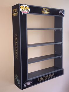 Custom Star Wars POP Display Case with LED LIGHTS wireless remote - Awesome Toyz