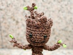 This free pattern is intended for personal use only. Please do not copy, redistribute, or sell this pattern. Groot and Guardians of the Galaxy are the intellectual property of someone else who is not me or you, I am guessing Marvel Comics? So I would advise you not to sell items from this pattern without permission.