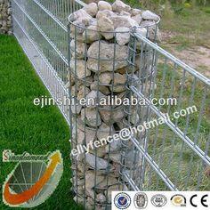 35x120cm Hot Dipped Galvanized Garden Gabion Pillars, View garden ...