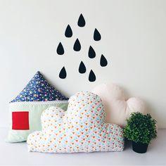 Cute sofa cushion cloud cushion 5 designs mixed lovely home chair cushion child bedroom decoration girls creative gifts 1pcs
