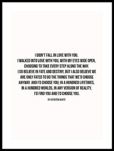 I would choose you Framed Print by Andrea Anderegg Relationship Quotes, Life Quotes, Art Quotes, Relationships, Letter To Yourself, Be Yourself Quotes, Love Letters To Your Boyfriend, Sorry Quotes, Reasons Why I Love You