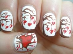 939 Best Nail Art Valentine39s Day Images Manicure