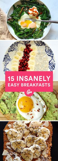 Check out their go-to healthy recipes that are perfect to make on your busiest mornings.