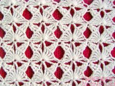 nice crochet stitch    very interesting stitch.  looks harder that it is, i will have to try this one.