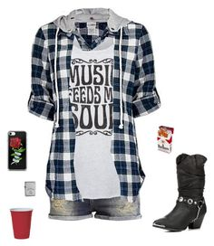 """""""Ready for the good times"""" by rosalie-ann ❤ liked on Polyvore featuring LC Trendz, Daytrip and Jim Beam"""