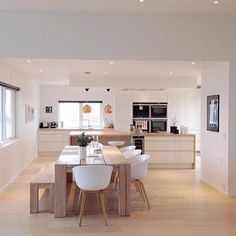 """""""This is one of the most beautiful kitchens I've ever seen ! @frufjellstad #onetofollow  #kitchen…"""""""