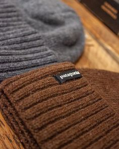 """99c426e7555b1 Fat Buddha Store on Instagram  """"The Patagonia Brodeo Beanie in Feather Grey  and Timber Brown is available in store and online priced at £30.00 ..."""