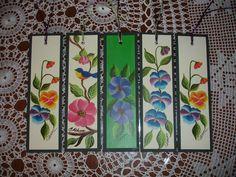 lindos separadores de lectura  florales
