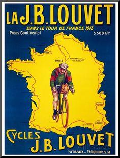 Tour de France, c.1913 Giclee Print at AllPosters.com