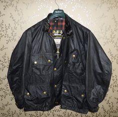 Barbour Wax Jacket, Bomber Jacket, Mature Style, Barbour International, Wax Jackets, Mature Fashion, Bikers, Trials, Vintage Looks