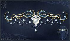 Sea Princess Tiara by Rittik-Designs