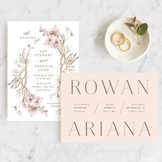 You HAVE to see the new Minted 2019 wedding collection! From minimalist, to modern, and botanical there is something for everyone! Free Wedding, Our Wedding, Floral Wedding, Wedding Colors, Wedding Stationery Inspiration, Foil Wedding Invitations, Wedding Table Settings, Timeless Wedding, October Wedding