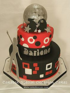 Disco Cake by cakeboxsoc, via Flickr