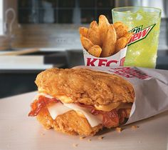 Pin for Later: Got the Munchies? 18 Crazy Fast-Food Items You Need to Try KFC Double Down