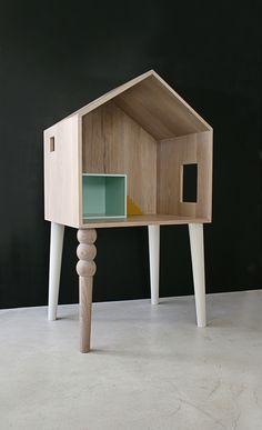 Pretend you're Thumbelina with Atelier Sans Souci dolls house