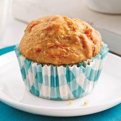 Muffins rhubarbe et orange - 5 ingredients 15 minutes Muffins Au Quinoa, Muffin Recipes, Breakfast Recipes, No Bake Desserts, Scones, Allergies, Food And Drink, Gluten, Lunch
