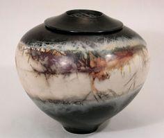 Judith Motzkin Studio :: saggar fired ceramic art and urns