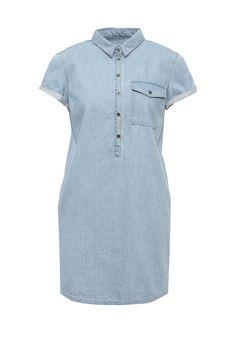 Платье джинсовое Befree купить за 2 199 руб BE031EWSLN26 в интернет-магазине Lamoda.ru