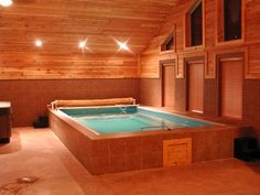 Endless Pools can fit virtually anywhere. Swim at home, year-round with an indoor Endless Pool.