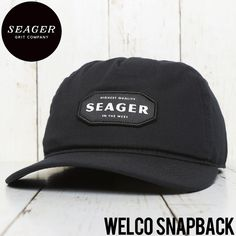 SEAGER シーガー WELCO SNAPBACK CAP スナップバックキャップ | BRAND,SEAGER | LUG Lowrs