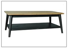 MAB-RCT009 Rectangular Coffee Table w/ Legs 1200mm x 600mm x 450mm High