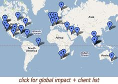 World Cafe is a global impact hub with interesting co-working methods.
