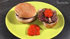 Gurmánska balkánska pljeskavica podľa Monji Prole (videorecept) - recept   Varecha.sk Hamburger, Ethnic Recipes, Food, Essen, Burgers, Meals, Yemek, Eten