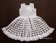 Crochet  Dress.White.  In Stock. by Illiana on Etsy, $160.00
