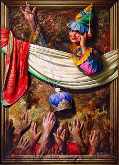 Vijender Sharma post gradute in fine art ( M. in Painting ) with Gold Madel & distinction. African Art Paintings, Oil Paintings, Landscape Paintings, Picasso Portraits, 3d Painting, Mandala Art, Indian Art, Sculpture Art, Sculptures